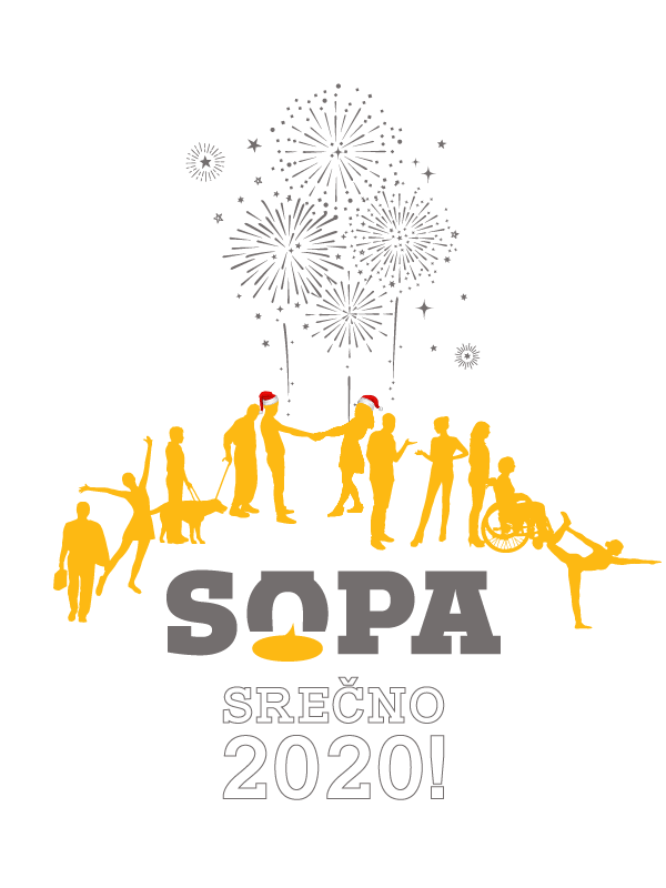SOPA cestitka