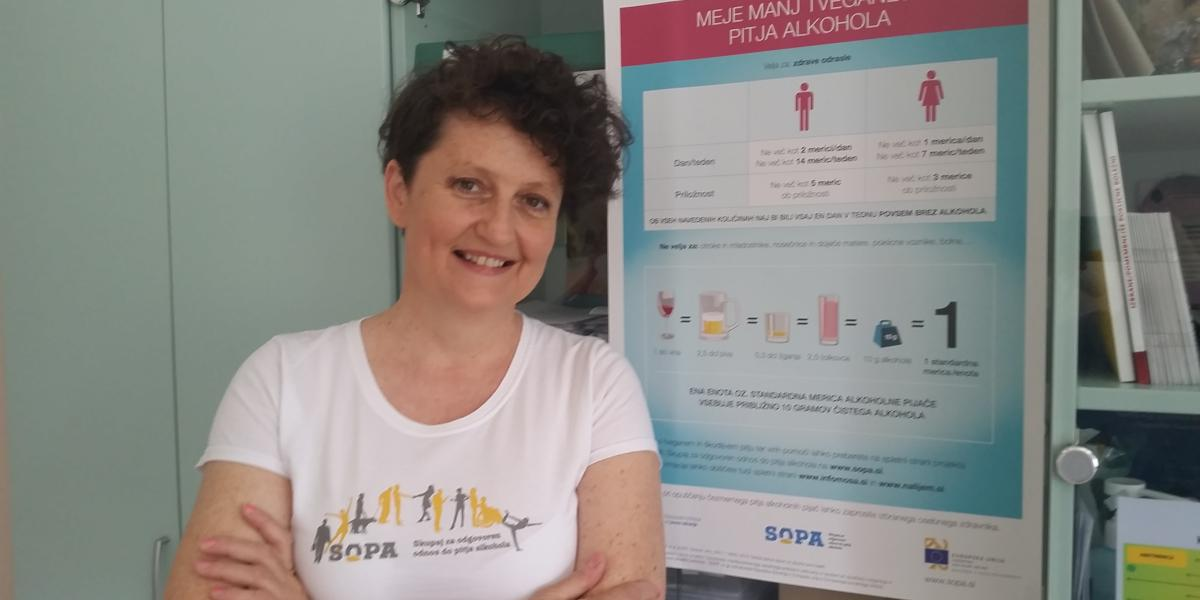 Intervju: SOPA kot priložnost za nova znanja in veščine na področju obravnave čezmernega pitja