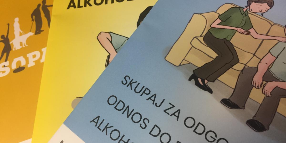 Brošura SOPA v treh tujih jezikih in v obliki prilagojeni za lahko branje