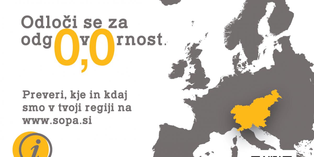 Dan brez alkohola: Aprila osem dogodkov po Sloveniji