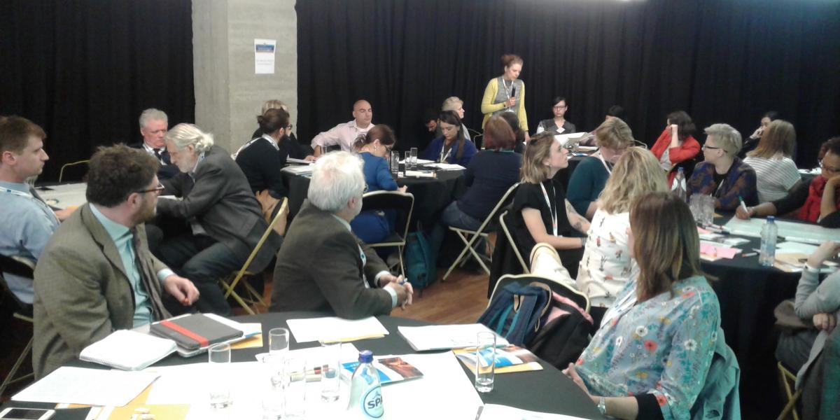 Rok Zaletel na konferenci v Bruslju predstavil projekt SOPA