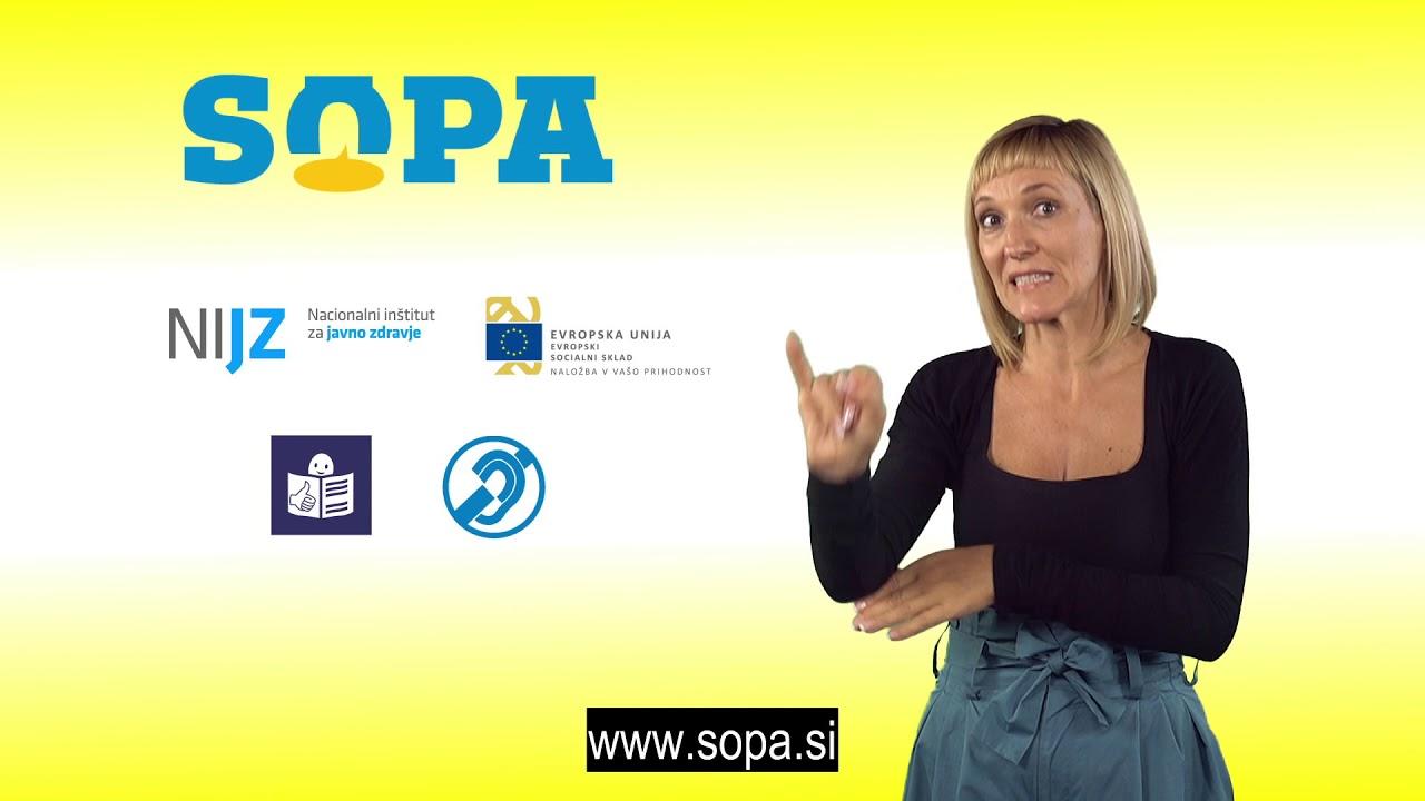 Brošura projekta SOPA: Uvodni sklop
